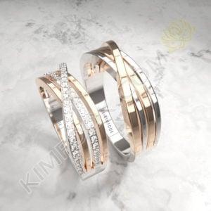 Diamond Wedding Band – FACB055