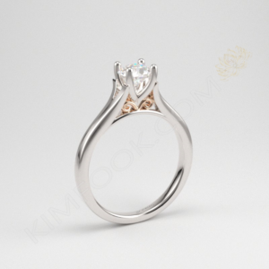 Four Prong Solitaire Engagement Ring – ERZA017