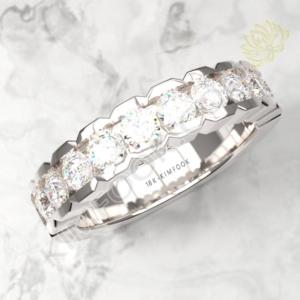 10 Stones Diamond Eternity Ring – WBRD107