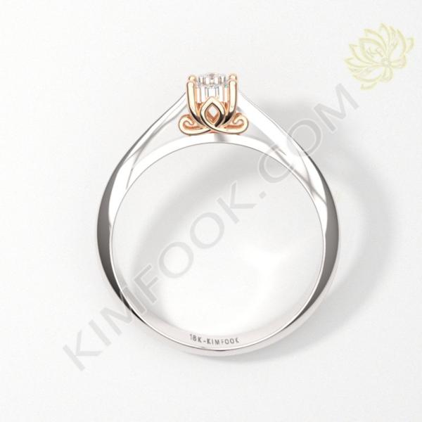 simple diamond ring, simple diamond engagement ring , cincin berlian simple , cincin tunangan berlian simple